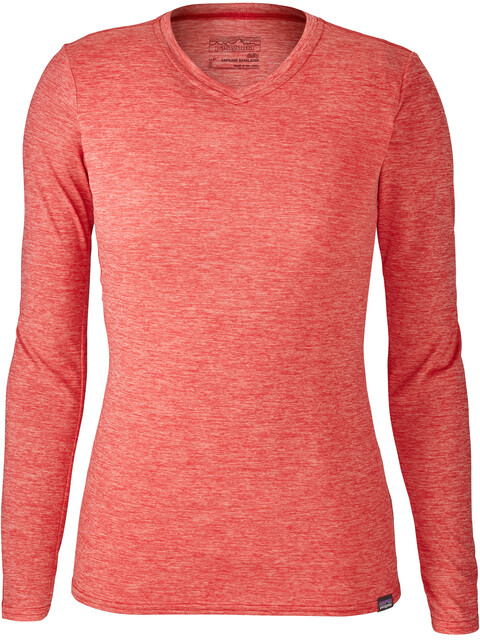 Patagonia Capilene Daily LS T-Shirt Women Maraschino-Peak Pink X-Dye
